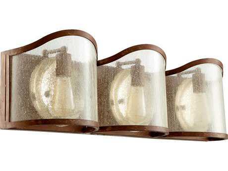 Quorum International Salento French Umber Three-Light Vanity Light QM5106394