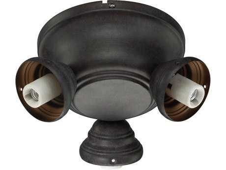 Quorum International Salon Toasted Sienna Three-Lights Fan Light Kit QM23839044