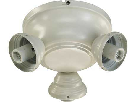 Quorum International Salon Antique White Fan Light-Kits QM23839067