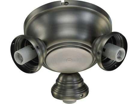 Quorum International Salon Antique Silver Fan Light-Kits QM23839092