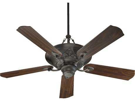 Quorum International Salon Oiled Bronze 56 Inch Indoor Ceiling Fan with Light QM8356586