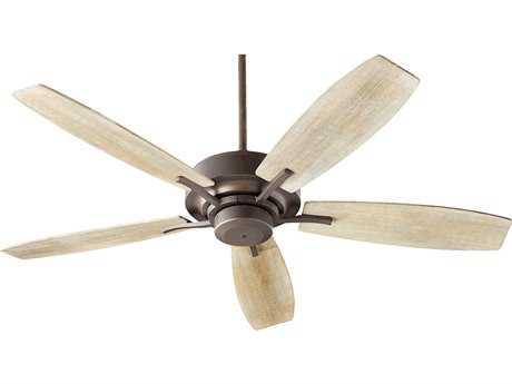 Quorum International Soho Oiled Bronze 52'' Wide Indoor Ceiling Fan with Light