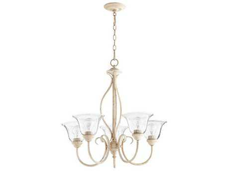 Quorum International Spencer Persian White Five-Light 24.5'' Wide Chandelier QM60105170