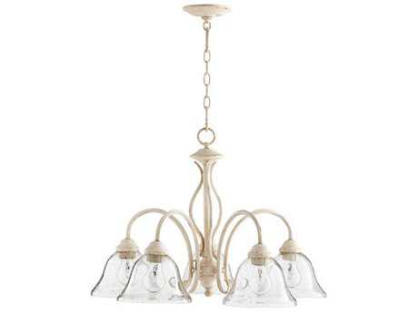 Quorum International Spencer Persian White Five-Light 24'' Wide Mini Chandelier QM64105170
