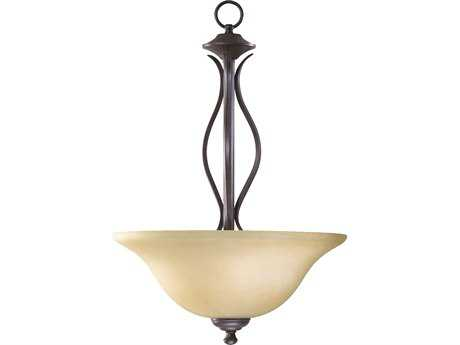 Quorum International Spencer Toasted Sienna Three-Lights Pendant Light QM8110344