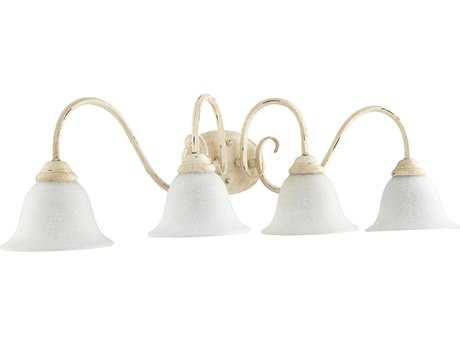 Quorum International Spencer Persian White Four-Light Vanity Light QM5110470