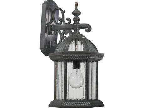 Quorum International Stelton Baltic Granite Outdoor Wall Lantern QM781345