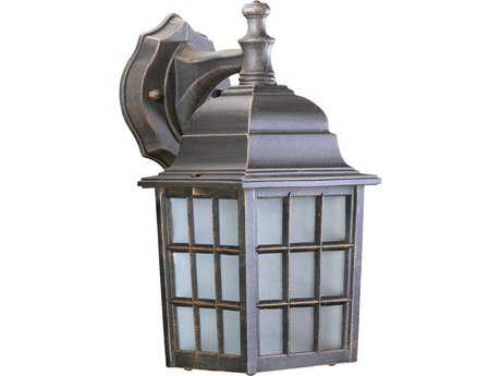 Quorum International Thomasville Rust Outdoor Wall Lantern QM7985