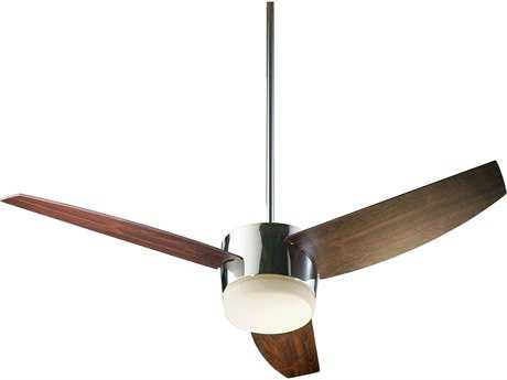 Quorum International Trimark Chrome 54 Inch Indoor Ceiling Fan with Light QM20543914
