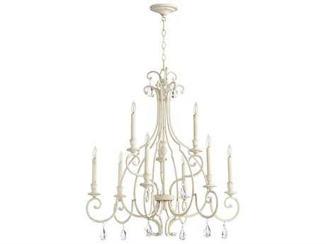 Quorum International Universal Persian White Nine-Light 31'' Wide Chandelier QM6014970