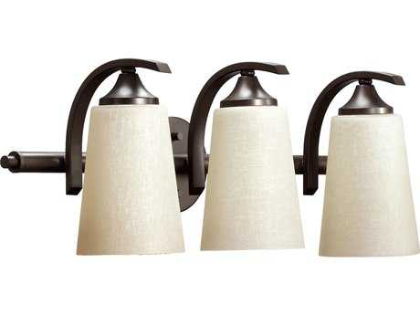 Quorum International Winslet II Oiled Bronze Three-Lights Vanity Light QM51293186