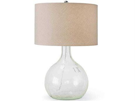 Regina Andrew King Nine Clear Glass Buffet Lamp REG131071