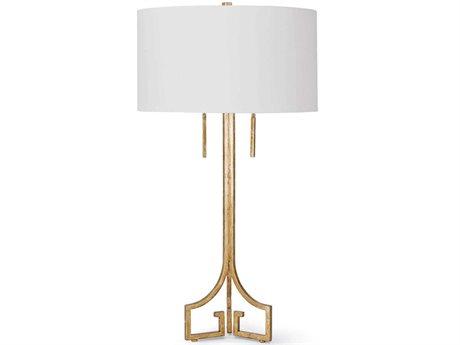 Regina Andrew Gold 2-light Buffet Lamp REG131076AGL
