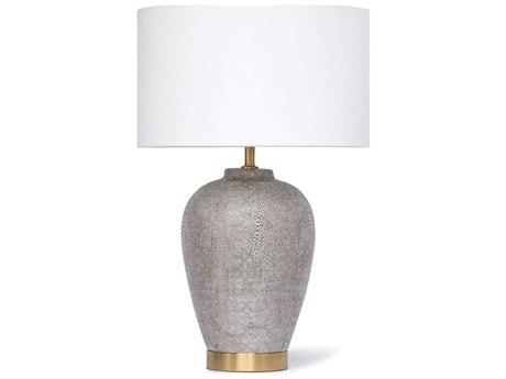 Regina Andrew Charcoal 1-light Buffet Lamp REG131266GRY