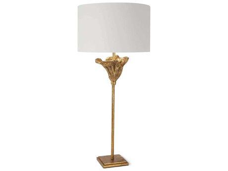 Regina Andrew Antique Gold Leaf 1-light Buffet Lamp REG131403