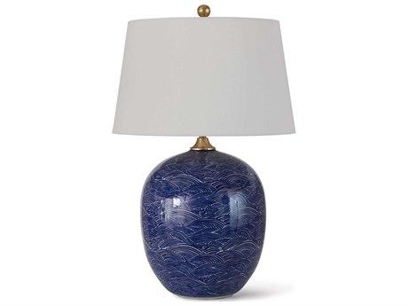 Regina Andrew Ceramic Blue Table Lamp