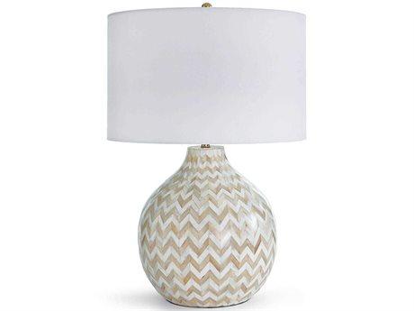 Regina Andrew Chevron Bone Natural Buffet Lamp