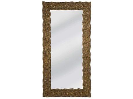 Regina Andrew Gold 42''W x 82''H Rectangular Floor Mirror
