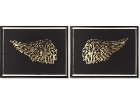 Sonder Distribution Accent Gold Wings - Black RD1206112
