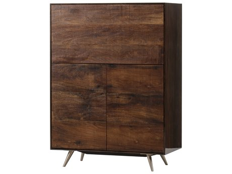 Resource Decor Brown Bar Cabinet RD0704362