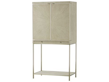 Resource Decor Ivory Bar Cabinet RD0804182