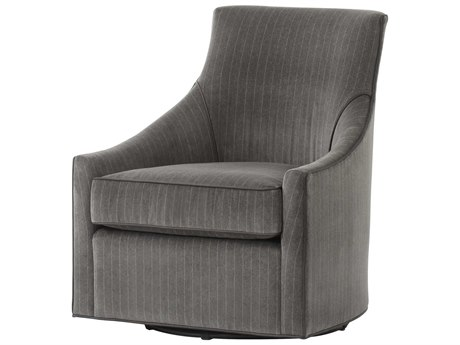 Resource Decor Fraser Vienna Graphite Swivel Accent Chair RD1502068