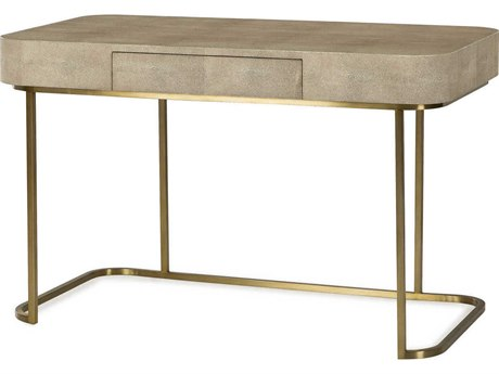 Resource Decor Jacques Textured Resin Faux Shagreen 48''W x 26''D Rectangular Writing Desk RD0801178