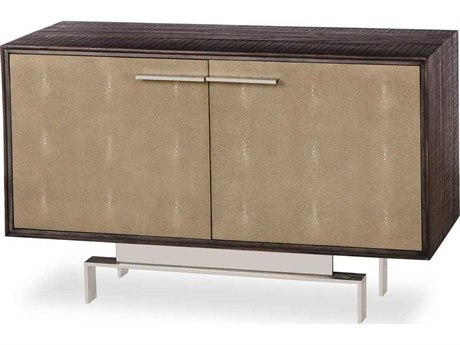 Sonder Distribution Latham Peroba with Textured Resin Faux Shagreen 44''W x 18''D Rectangular Credenza RD0704306