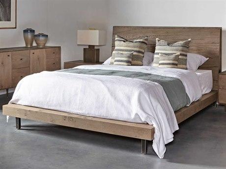 Sonder Distribution Matilda Silver Knotty Oak King Size Platform Bed