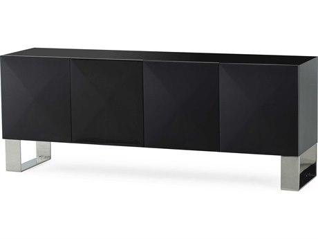 Sonder Distribution Picasso Black Maple 71''W x 18''D Rectangular Credenza RD1404011