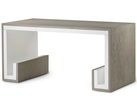 Resource Decor Silver / Ivory Secretary Desk RD1401058
