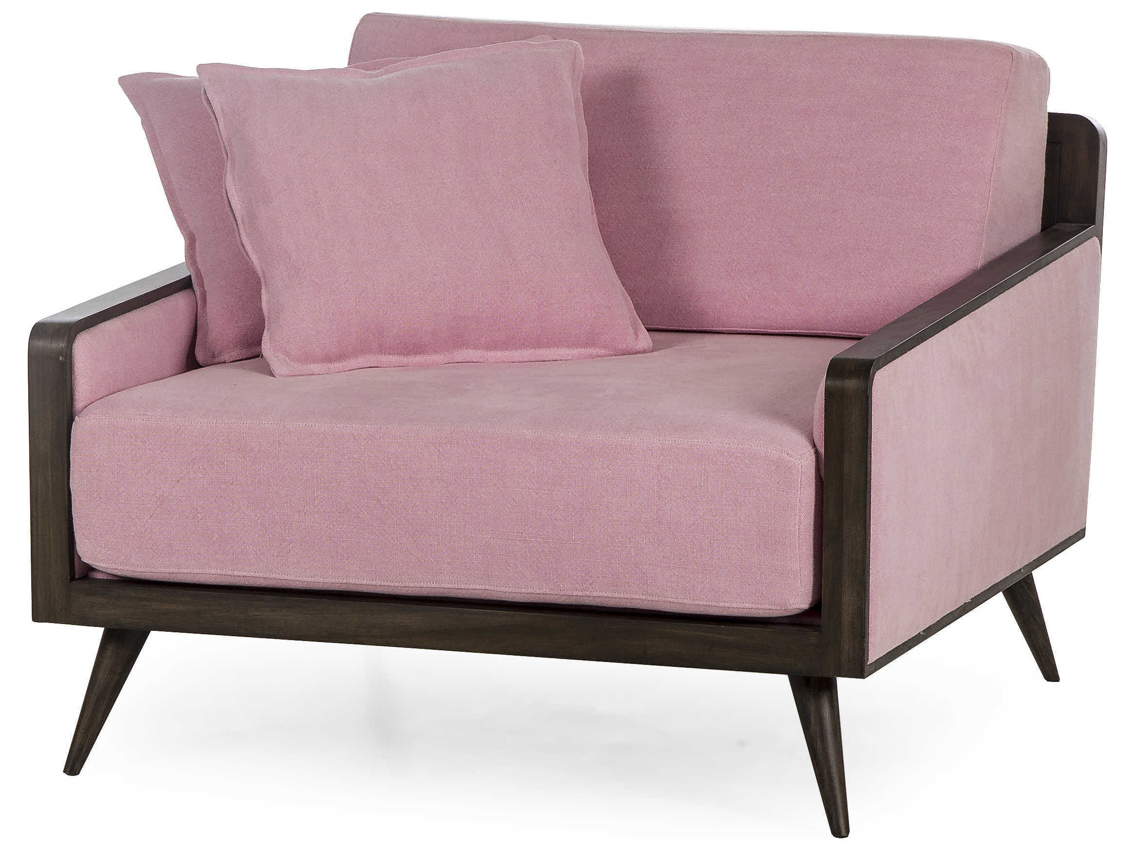 Super Sonder Distribution Serene Nina Pale Pink Accent Chair Andrewgaddart Wooden Chair Designs For Living Room Andrewgaddartcom