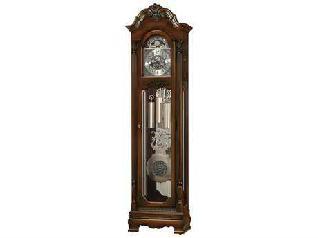 Ridgeway Clocks Nikolas Royale Cherry Grandfather Clock RWC2573