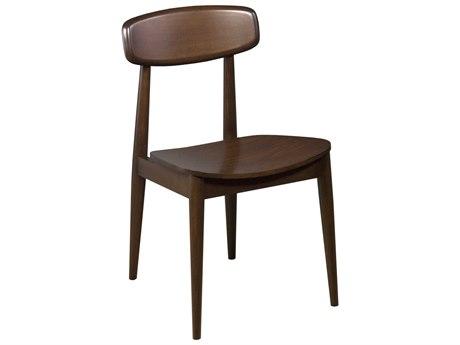 Saloom Furniture Walnut Side Dining Chair (Sold in 2) SLM100SWQSWALNUT
