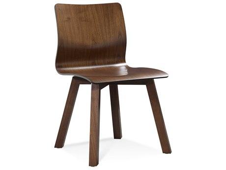 Saloom Furniture Black Walnut Side Dining Chair