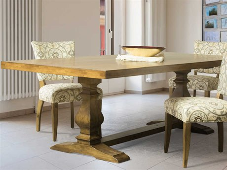 Saloom Furniture New Castle 112'' Wide Rectangular Dining Table