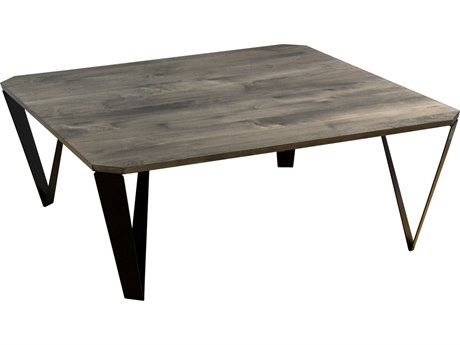 Saloom Furniture Ace Occasional Nantucket 42'' Wide Square Coffee Table SLMMZWP4242ACEQSNANTUCKET