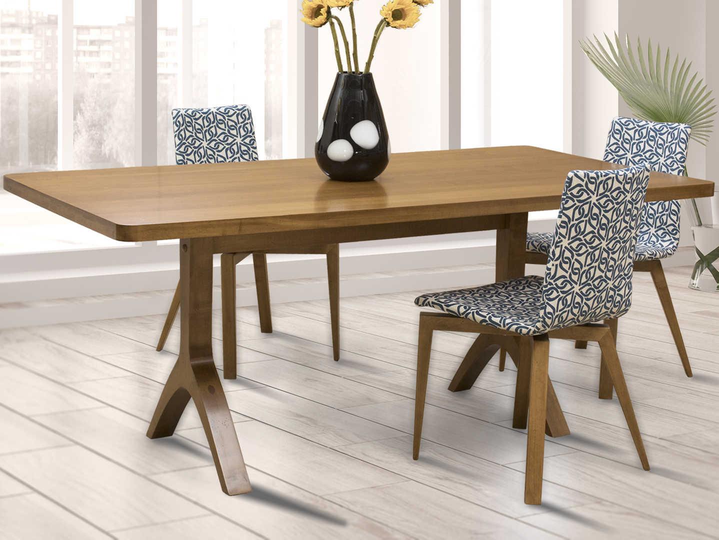 Saloom Furniture Oracle 54 Wide Rectangular Dining Table Slmmawi3654hud