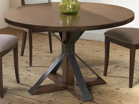 Saloom Furniture Oracle 80'' Wide Round Dining Table