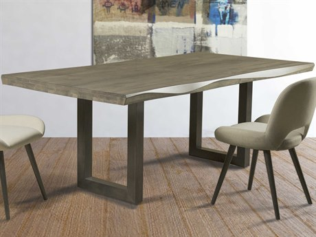 Saloom Furniture Oracle 80'' Wide Rectangular Dining Table