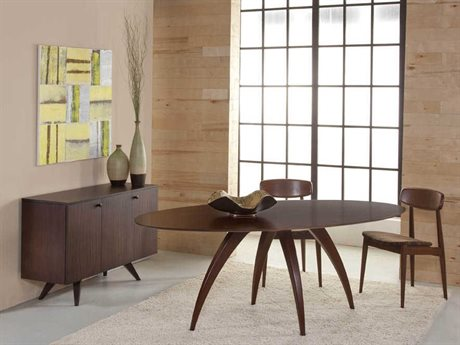 Saloom Furniture Skyline Dining Room Set SLMSCWE4280ELLSET