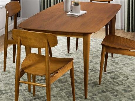Saloom Furniture Skyline Flax 72'' Wide Rectangular Dining Table