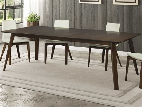 Saloom Furniture Skyline 78'' Wide Rectangular Dining Table