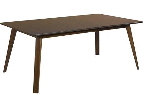 Saloom Furniture Skyline Walnut 78'' Wide Rectangular Dining Table