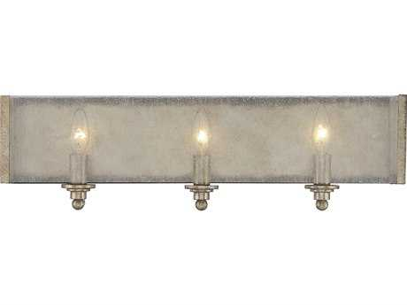 Savoy House Chelsey Oxidized Silver Three-Light Vanity Light with Clear Seedy Glass SV84303128