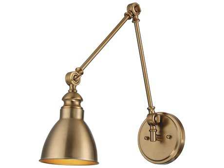 Savoy House Dakota Warm Brass Swing Arm Light SV99601322