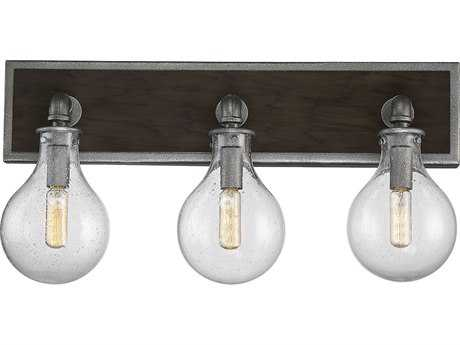 Savoy House Dansk Galvanized Metal Three-Light 21.25'' Wide Vanity Light SV86073390