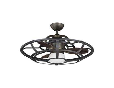 Savoy House Fan d'Lier Alsace Reclaimed Wood Ceiling Fan/Chandelier SV269536FD196