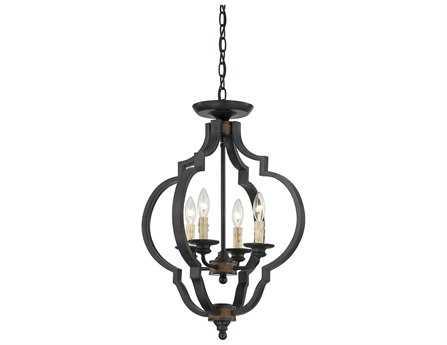 Savoy House French Country Kelsey Durango Four-Light Semi-Flush Mount Light SV68905441