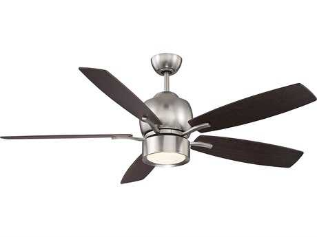 Savoy House Girard Satin Nickel LED Indoor Ceiling Fan with Frost Opal Glass SV521205CNSN